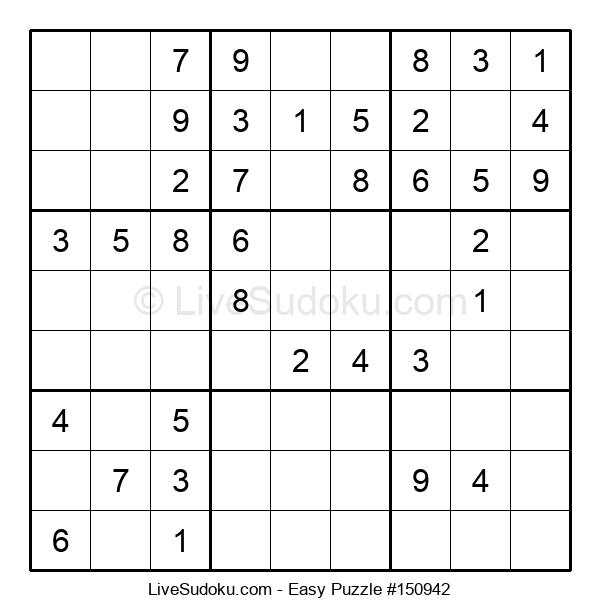 Beginners Puzzle #150942