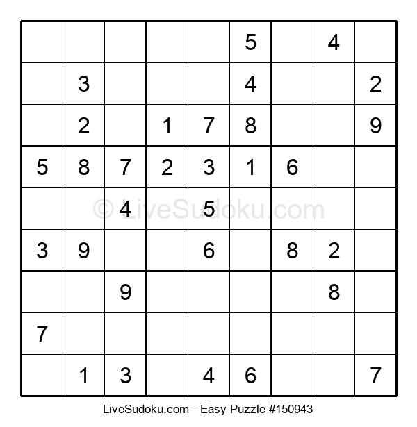 Beginners Puzzle #150943