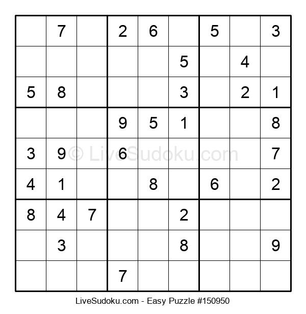 Beginners Puzzle #150950