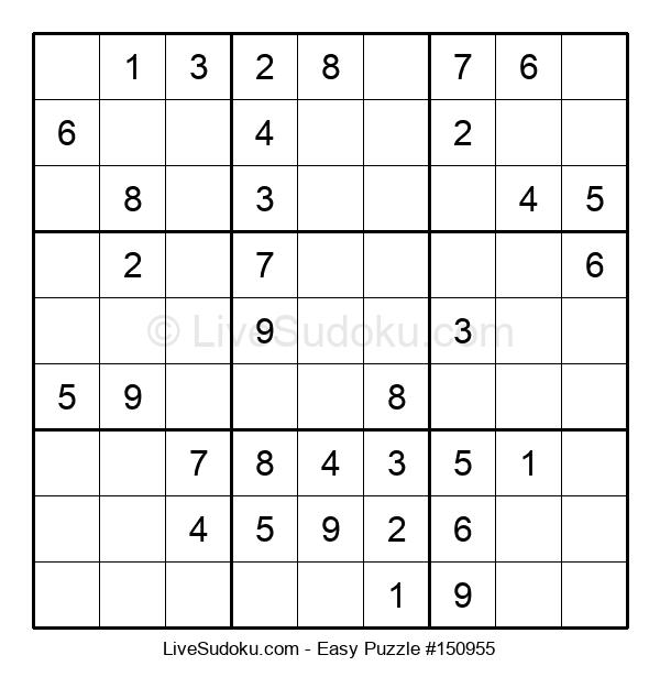 Beginners Puzzle #150955