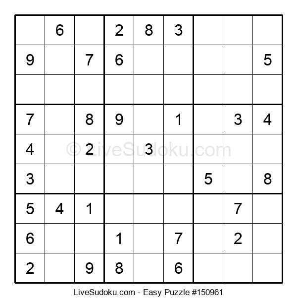 Beginners Puzzle #150961