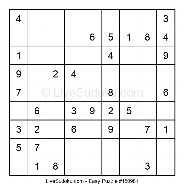 Beginners Puzzle #150981