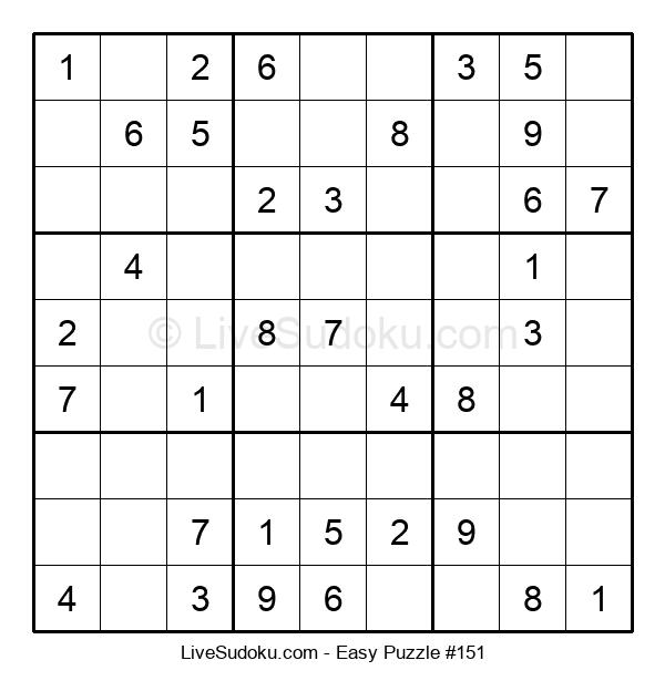 Beginners Puzzle #151