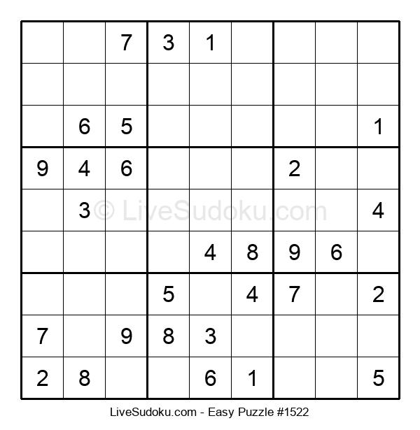 Beginners Puzzle #1522