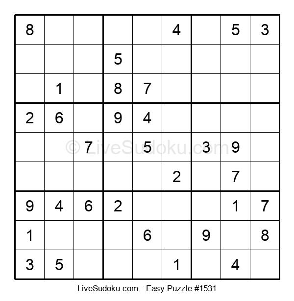 Beginners Puzzle #1531