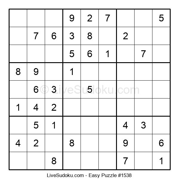 Beginners Puzzle #1538