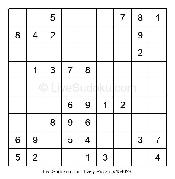 Beginners Puzzle #154029