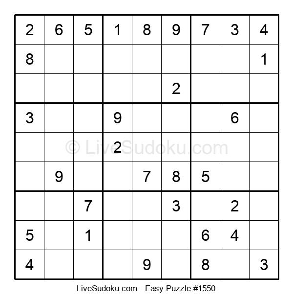 Beginners Puzzle #1550