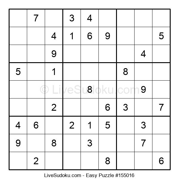 Beginners Puzzle #155016