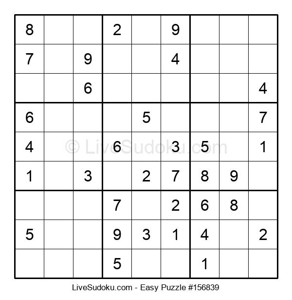 Beginners Puzzle #156839