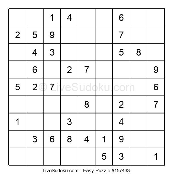Beginners Puzzle #157433