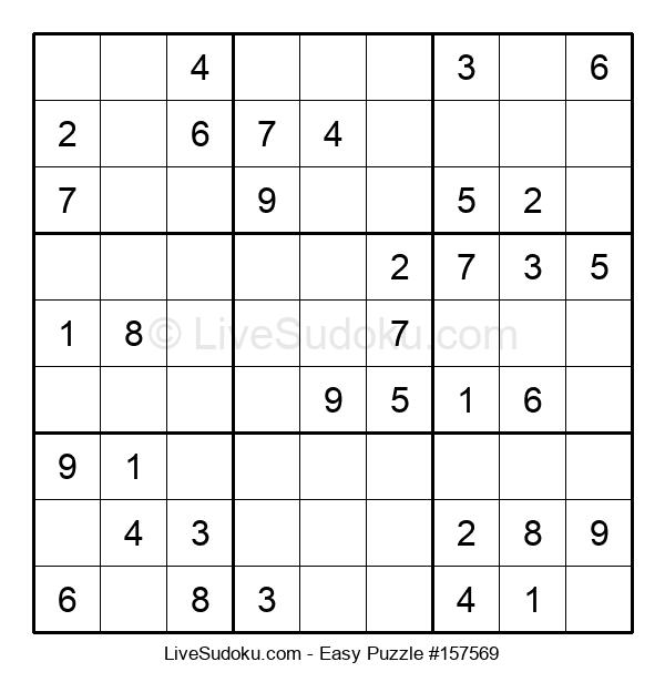 Beginners Puzzle #157569