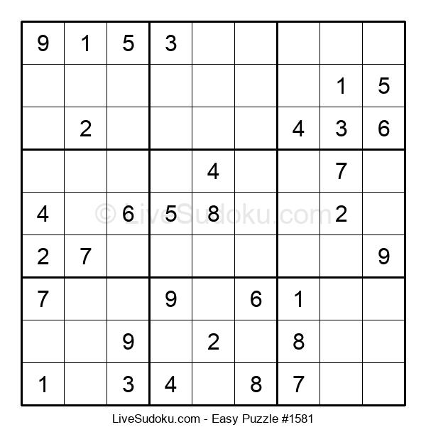 Beginners Puzzle #1581