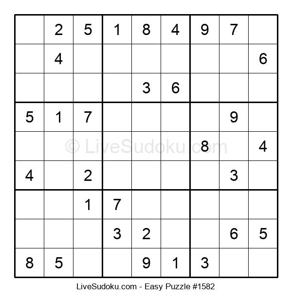 Beginners Puzzle #1582
