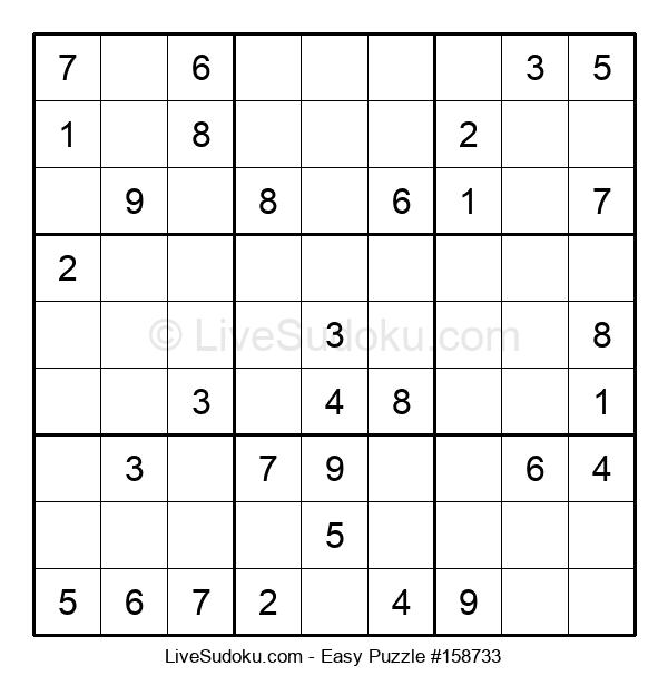 Beginners Puzzle #158733