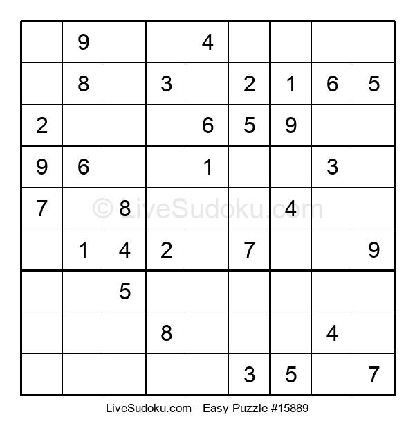 Beginners Puzzle #15889