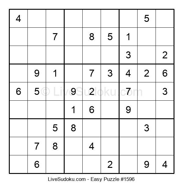 Beginners Puzzle #1596