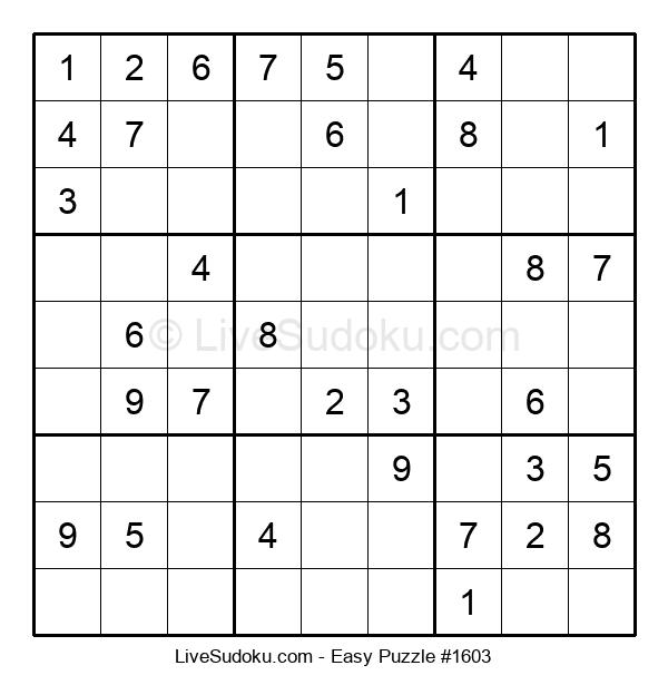 Beginners Puzzle #1603