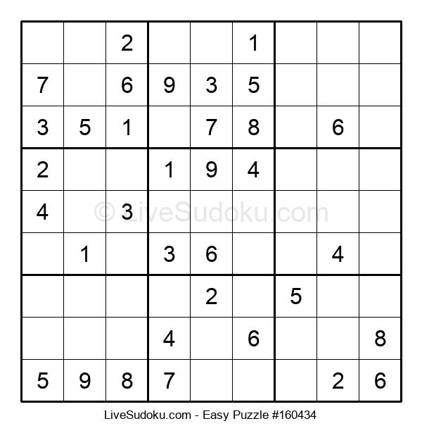 Beginners Puzzle #160434