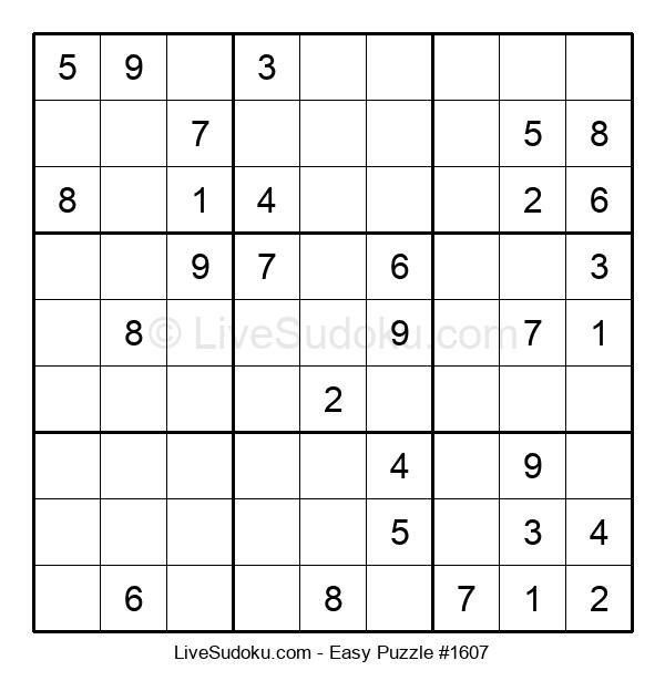 Beginners Puzzle #1607