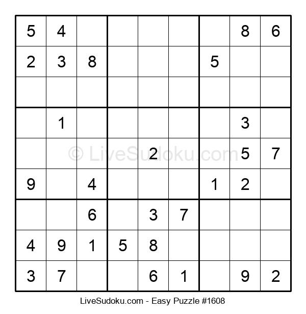 Beginners Puzzle #1608
