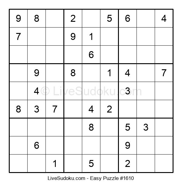 Beginners Puzzle #1610