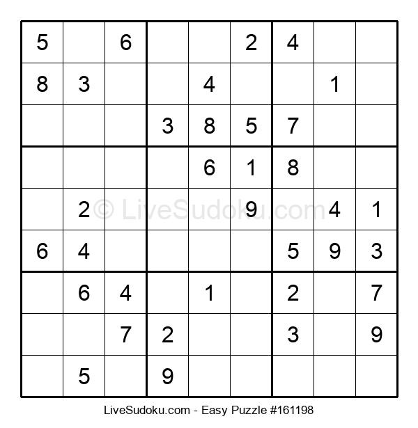 Beginners Puzzle #161198