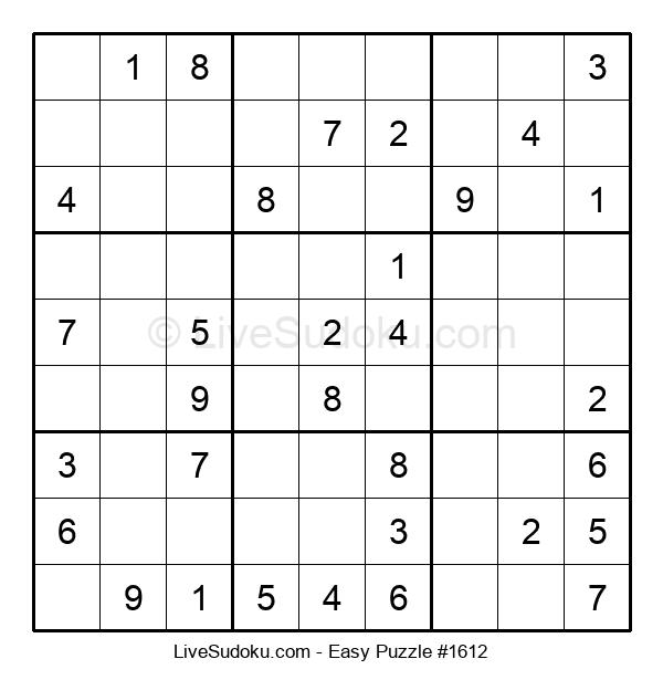 Beginners Puzzle #1612