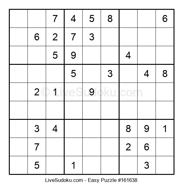 Beginners Puzzle #161638