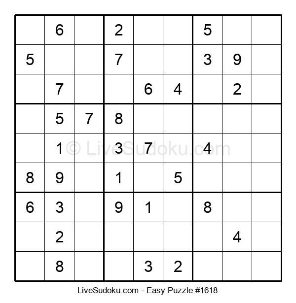 Beginners Puzzle #1618