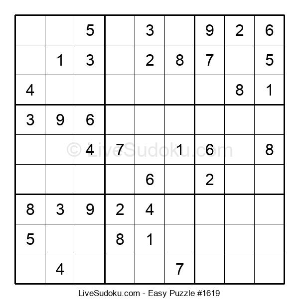 Beginners Puzzle #1619