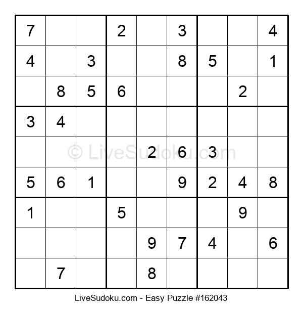Beginners Puzzle #162043