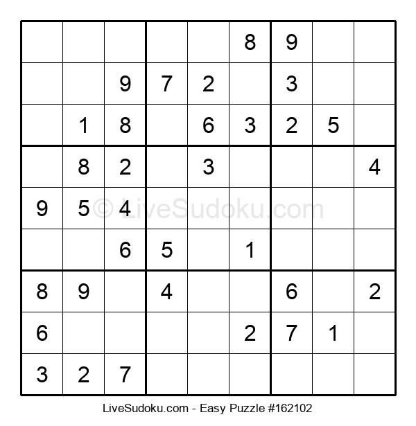 Beginners Puzzle #162102