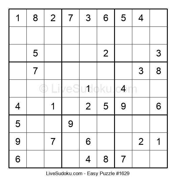 Beginners Puzzle #1629