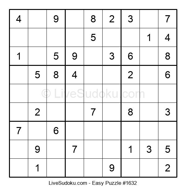 Beginners Puzzle #1632