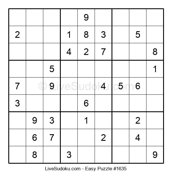 Beginners Puzzle #1635