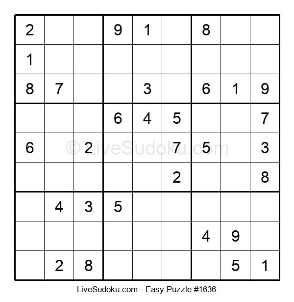 Beginners Puzzle #1636