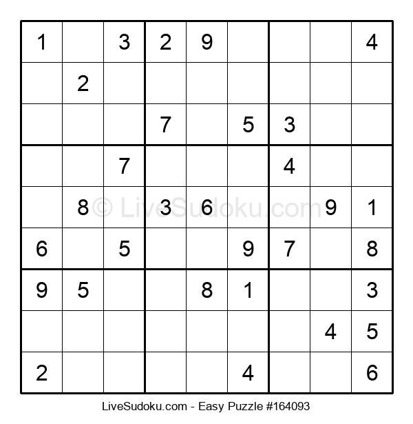Beginners Puzzle #164093