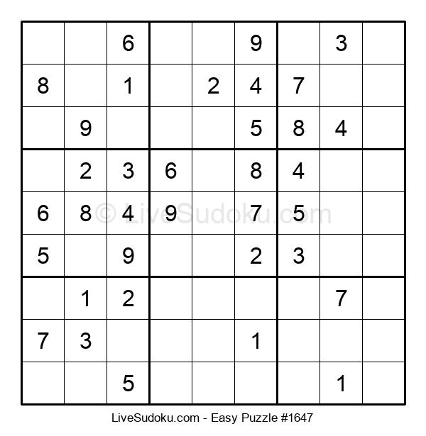 Beginners Puzzle #1647