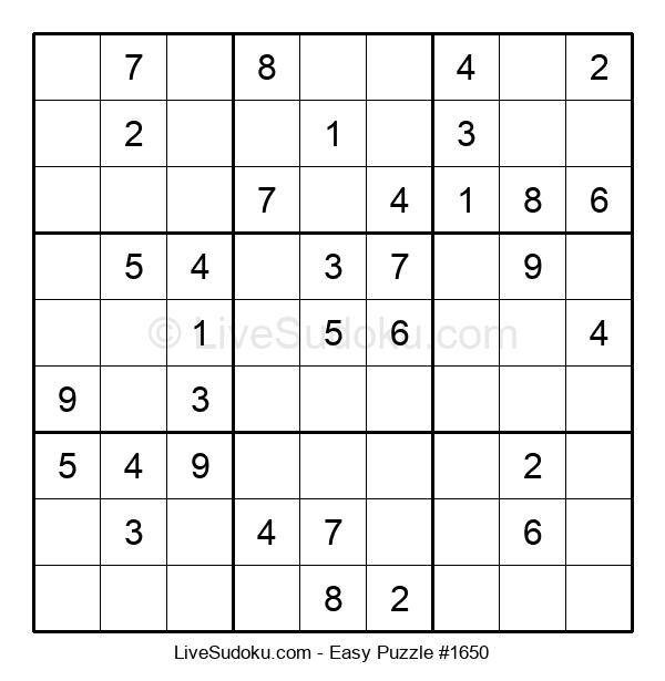 Beginners Puzzle #1650