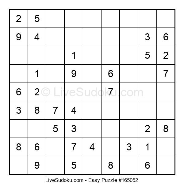 Beginners Puzzle #165052
