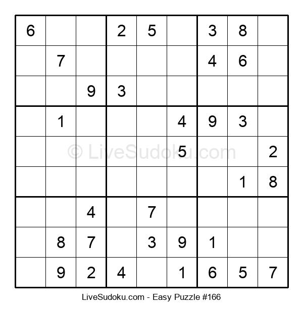 Beginners Puzzle #166