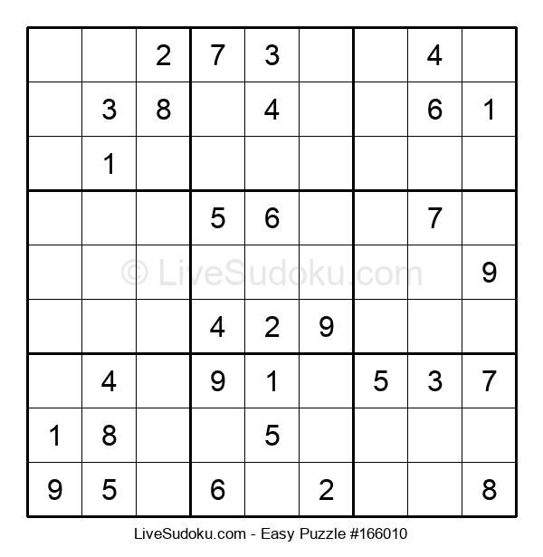 Beginners Puzzle #166010