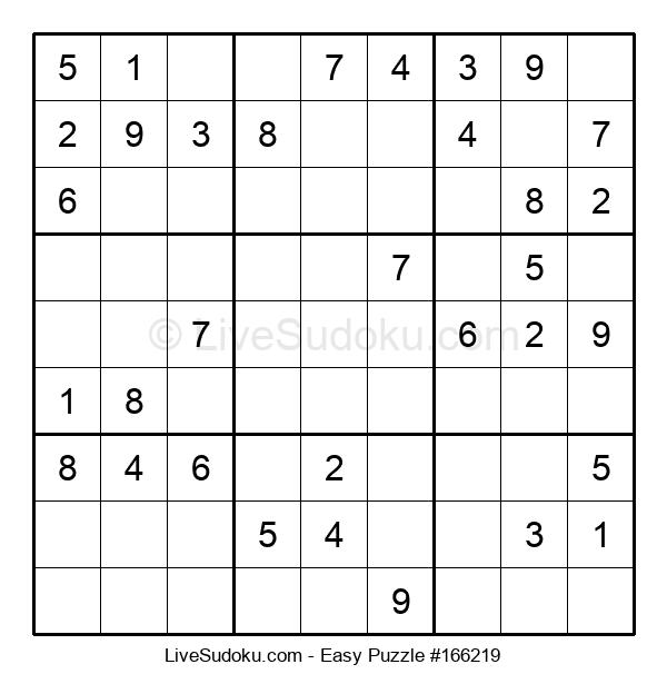 Beginners Puzzle #166219