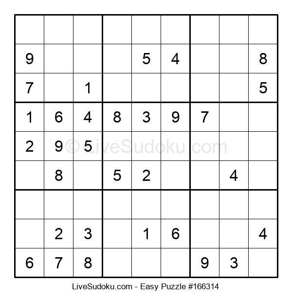 Beginners Puzzle #166314