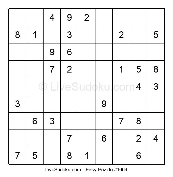 Beginners Puzzle #1664