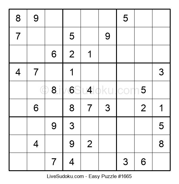 Beginners Puzzle #1665