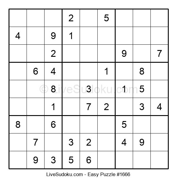 Beginners Puzzle #1666