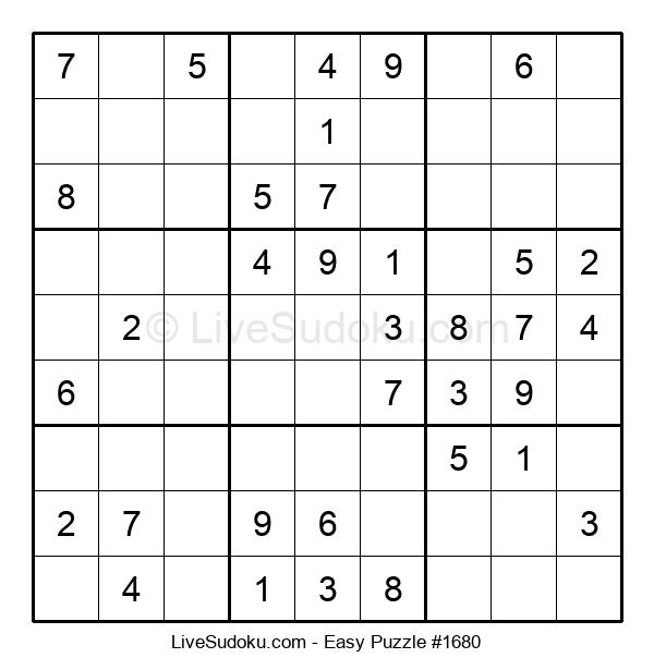 Beginners Puzzle #1680