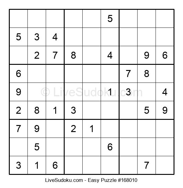 Beginners Puzzle #168010
